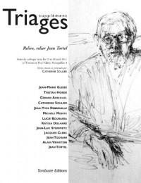 Revue Triages Supplément 2013 - Relire, relier Jean Tortel