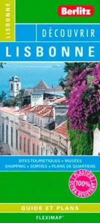 Lisbonne Flexi Map Plan de Ville Touristique Plastifie Infos Pratiques