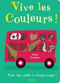 Mes jolis livres à volets - Vive les couleurs !