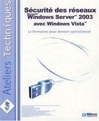 Sécurité Windows Vista avec Windows Server 2003