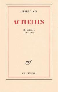 Chroniques 1948-1953
