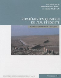 Strategies d'acquisition de l'eau et societe au moyen-orient depuis l'antiquite