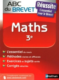 ABC BREVET REUSSITE MATHS 3E