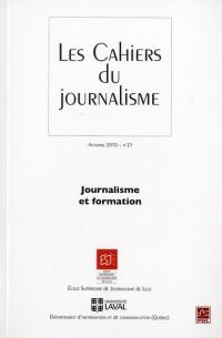 Journalisme et Formation