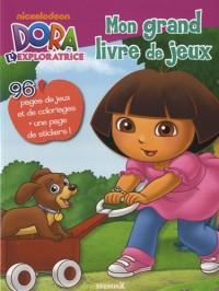 Mon grand livre de jeux Dora l'exploratrice