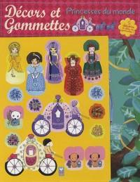 Les princesses du monde décors & gommettes