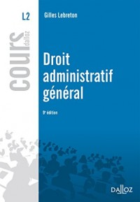 Droit administratif général - 9e éd.