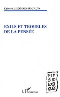 Exils et troubles de la pensée