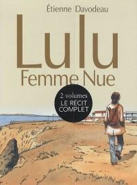 Lulu, femme nue : Coffret en 2 volumes : Tome 1 et Tome 2