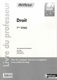 Droit Term Stmg  (Pochette Reflexe)  Professeur  -  2013