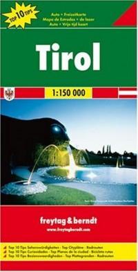 Carte routière : Tyrol