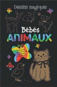 Bébés animaux : Avec un crayon de bois