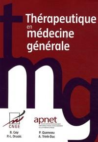 Thérapeutique en médecine générale