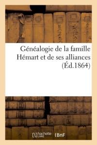 Généalogie de la Famille Hemart  ed 1864