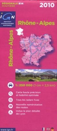 Rhône-Alpes : 1/250000