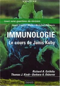 Immunologie : Le cours de Janis Kuby avec questions de révision