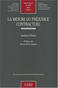 La mesure du préjudice contractuel