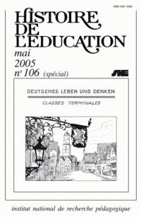 L'enseignement de l'allemand : XIXe - XXIe siècles