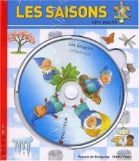 Les saisons. Livre puzzle avec CD-ROM