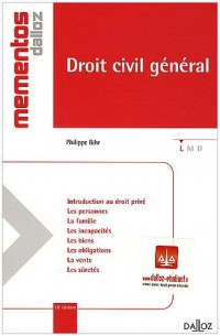 Droit civil général - 18e éd.: Mémentos