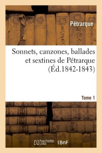 Sonnets  canzones  ballades t1  ed 1842 1843