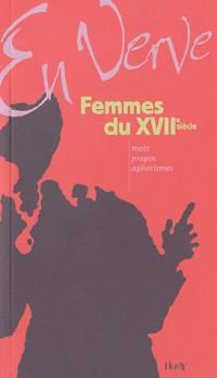 Femmes du XVIIe en verve