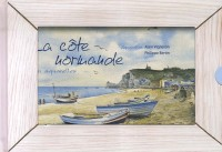 La côte normande : En aquarelles