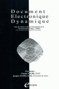 Document électronique dynamique : CIDE 6