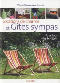 Locations de charme et Gîtes sympas