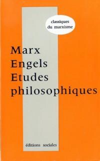 Etudes philosophiques