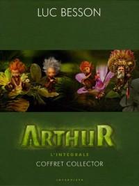 Arthur, Tome 1 à 4 : L'Intégrale Coffret Collector : Tome 1, Arthur et les Mimimoys ; Tome 2, Arthur et la cité interdite ; Tome 3, Arthur etn la ... ; Tome 4, Arthur et la guerre des deux mondes