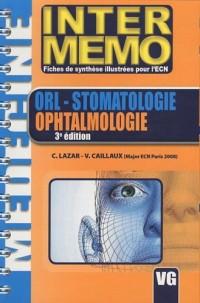 ORL- Stomatologie Ophtalmologie
