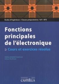 Electronique analogique : fonctions principales