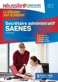 Concours secrétaire administratif, saenes 2016-2017