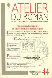 L'atelier du roman, Décembre 2005