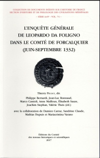 L'enquête générale de Leopardo da Foligno dans le comté de Forcalquier (juin-septembre 1332)