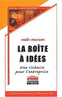 La boîte à idées : une richesse pour l'entreprise