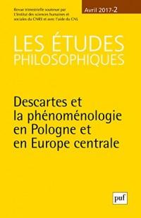 Les études philosophiques 2017 n 2