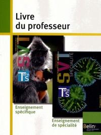 Svt term s oblig + spec 2012 livre prof