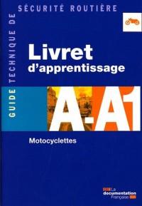 Livret d'Apprentissage a-A1 Motocyclettes
