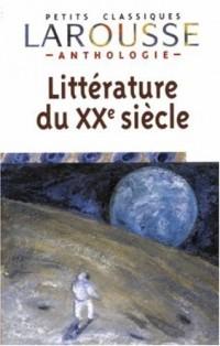 Anthologie de la littérature française XXème siècle