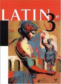 Latin 3e : Livre de l'élève