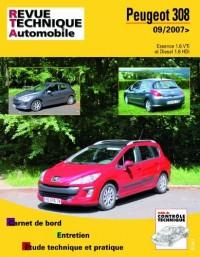 Rta B731 Peugeot 308+Sw 09/2007> Ess 1.6 + 1.6hdi