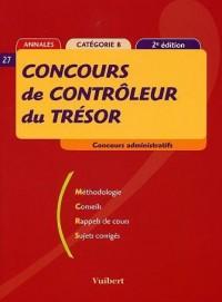 Concours de contrôleur du Trésor : Concours administratifs, catégorie B