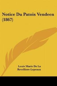 Notice Du Patois Vendeen (1867)