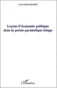 Leçons d'économie politique dans la poésie parabolique kôngo