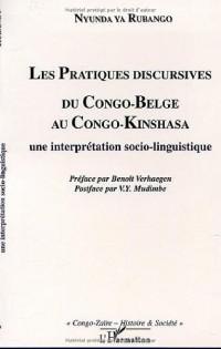 Pratiques Discursives du Congo-Belge au Congo-Kinshasa