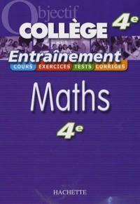 Maths 4e : Entraînement