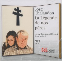 La légende de nos pères  1 cd mp3
