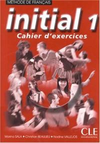 Initial niveau 1, version en euros : Cahier d'exercices